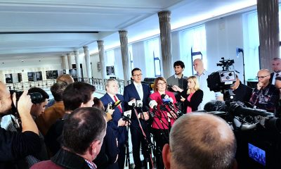 Morawiecki Gliński PiS Prawo i Sprawiedliwość media