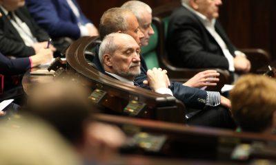 Antoni Macierewicz fot. Kancelaria Sejmu - Krzysztof Białoskórski