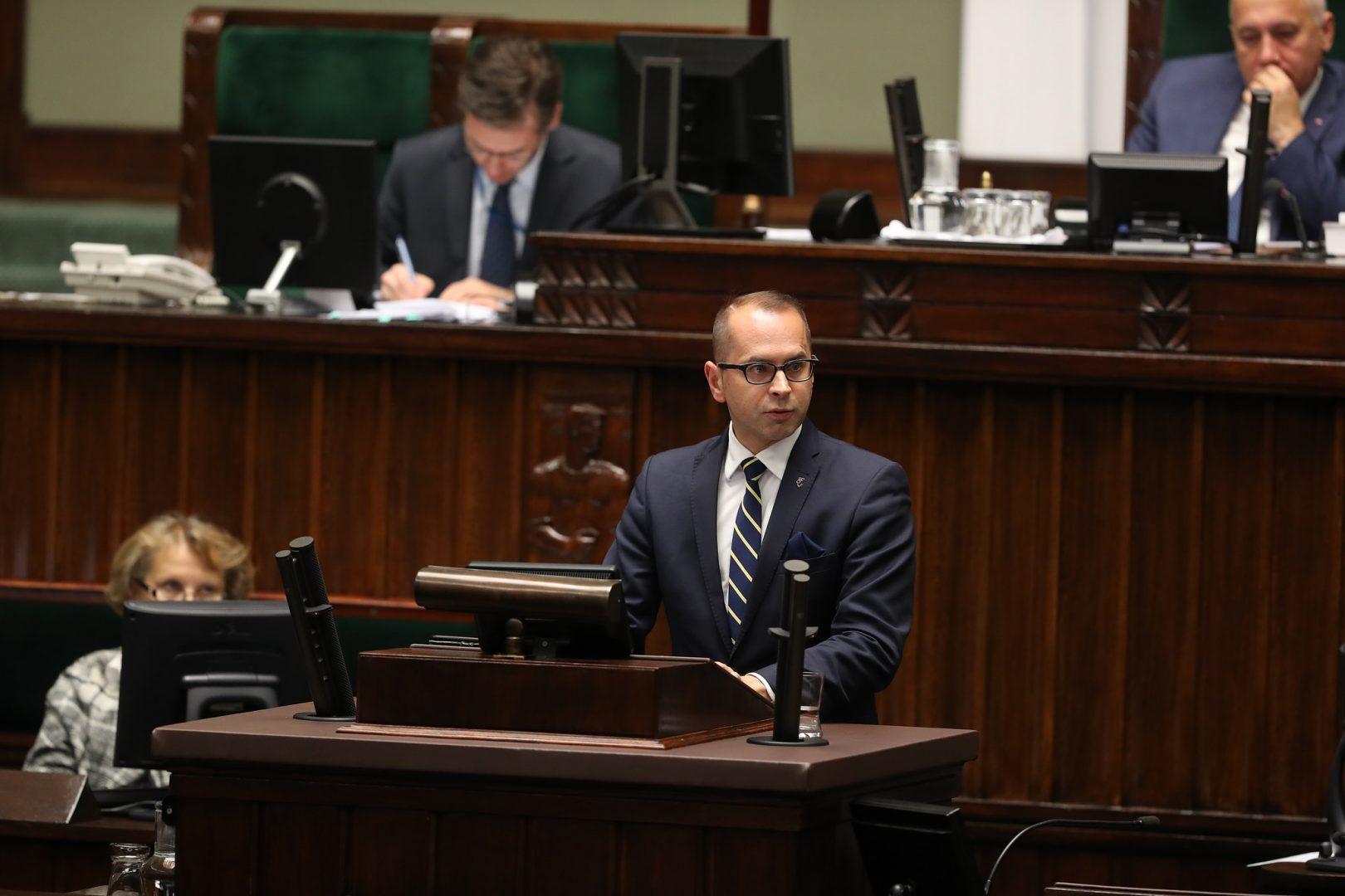 Michał Szczerba fot. Kancelaria Sejmu
