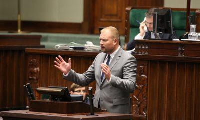 Witold Zembaczyński fot. Kancelaria Sejmu - Krzysztof Białoskórski