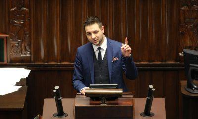 Patryk Jaki/fot. Krzysztof Białoskórski/Kancelaria Sejmu