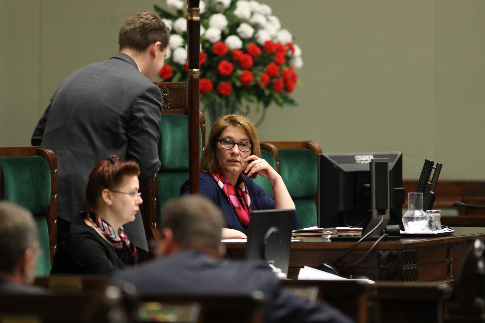 Beata Mazurek/fot. Kancelaria Sejmu/Rafał Zambrzycki