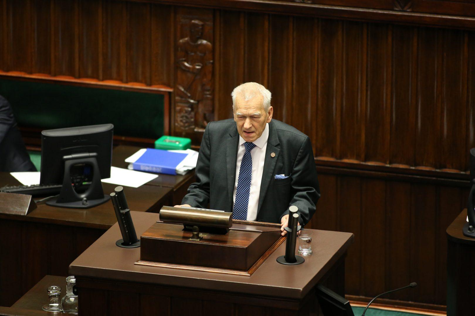 Kornel Morawiecki/fot. Krzysztof Białoskórski/Kancelaria Sejmu