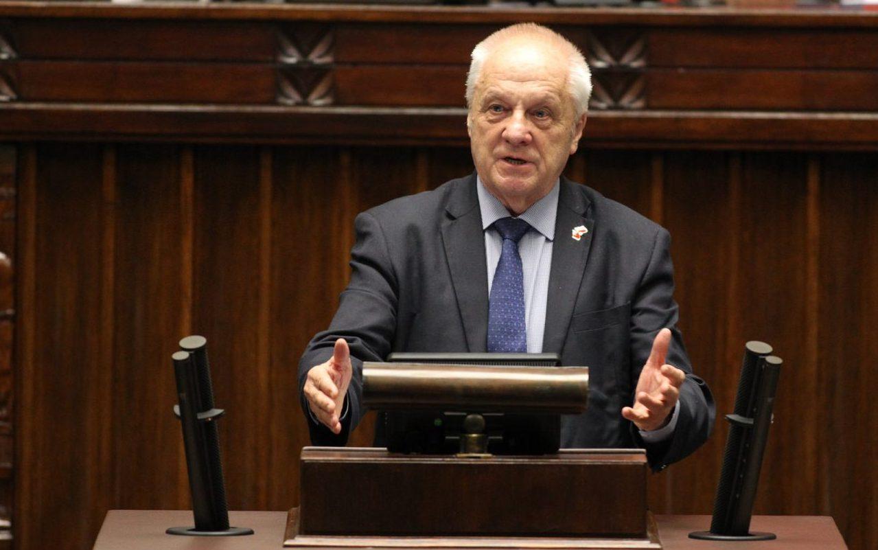 Stefan Niesiołowski/fot. Krzysztof Białoskórski/Kancelaria Sejmu