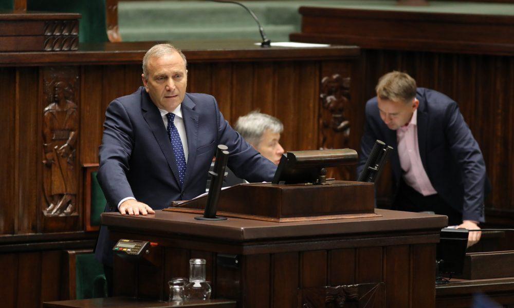 Grzegorz Schetyna/fot. Rafał Zambrzycki/Kancelaria Sejmu