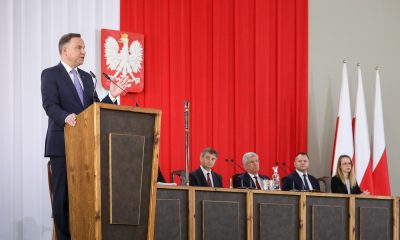 Prezydent Andrzej Duda/fot. Jakub Szymczuk/KPRP