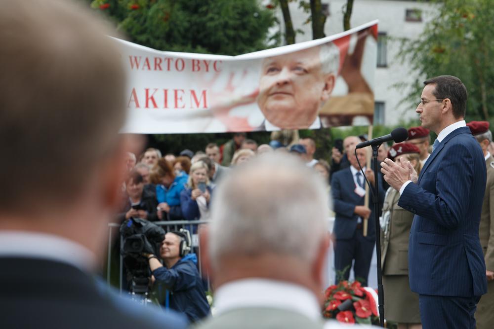 Premier Mateusz Morawiecki w Kraśniku/fot. KPRM/Domena publiczna