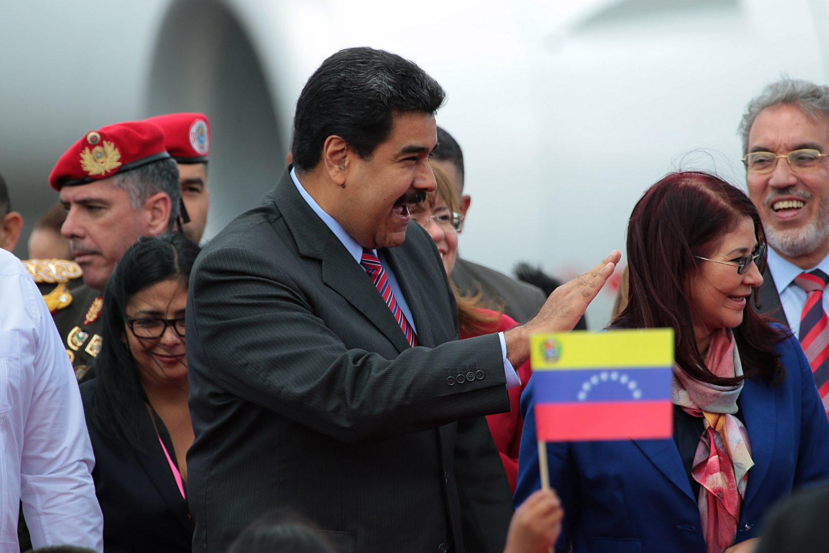 Nicolas Maduro/fot. Carlos Rodríguez/Andes/Flickr/CC BY-SA 2.0