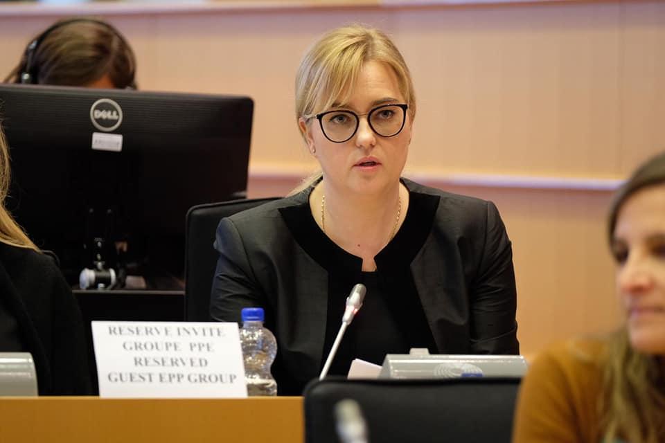Magdalena Adamowicz/Fot. Janusz Lewandowski/oficjalny profil społecznościowy polityka