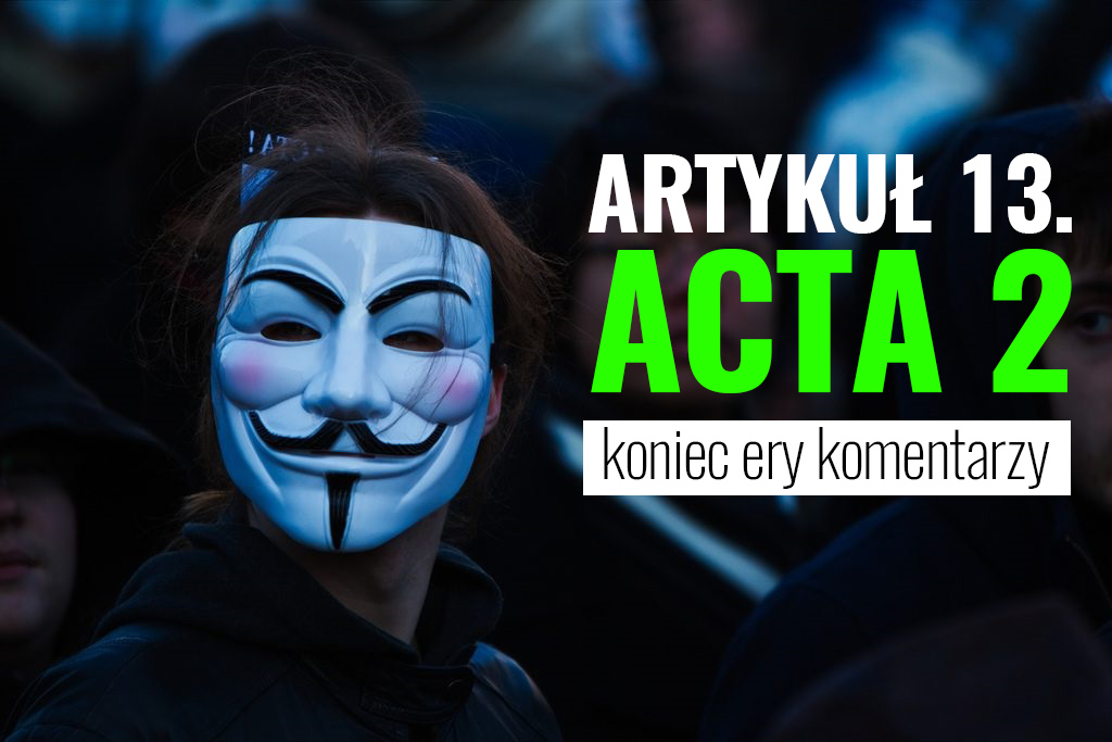 ACTA/Fot. Pierre Rennes/CC BY-SA 2.0/Flickr